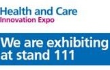 Come and see us at the Health and Care Innovation Expo
