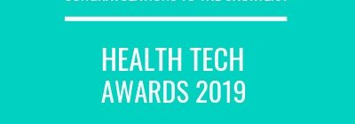 NECS Shortlisted in 3 Categories at Health Tech Awards