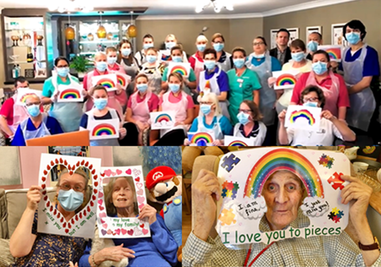 How care homes are  keeping their residents active, happy and in good spirits during COVID-19