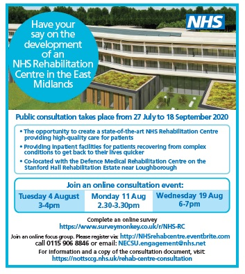 Specialist Rehabilitation Centre in the East Midlands