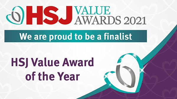 CDRC shortlisted as a finalist for the HSJ Value Awards 2021